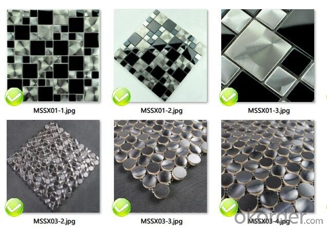 High Quality Glass Mosiac From China