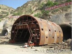 Easy Operation Tunnel Steel Formwork