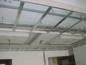 Decorative Material Light Steel Keel For Gypsum Ceiling