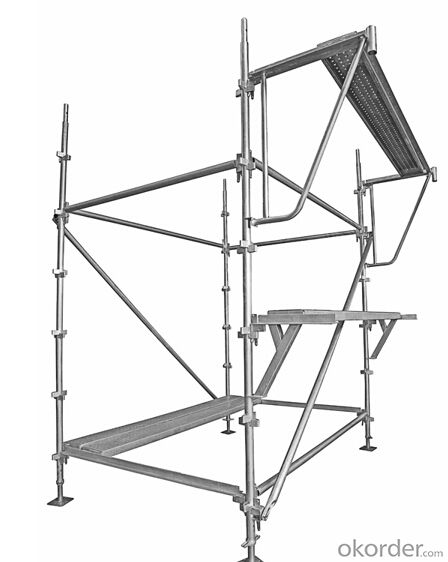 Kwikstage Scaffolding System galvanised