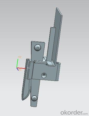 kwikstage scaffolding end toeboard bracket