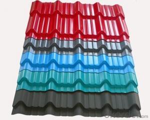 Currugated Prepainted Aluzinc Steel Sheet