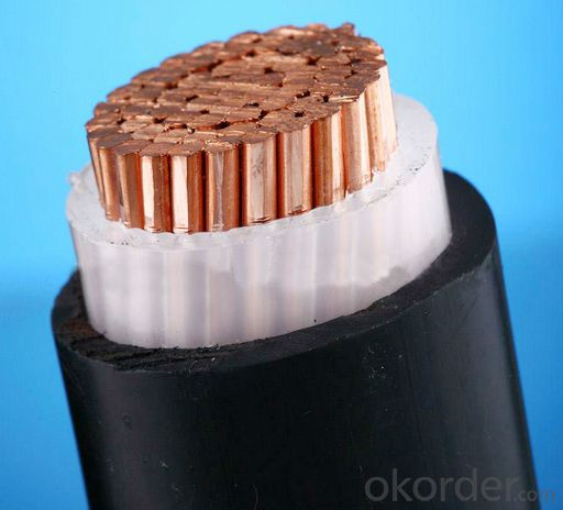 XLPE insulated and PVC sheathed power cable 0.6/1kV (unarmoured)