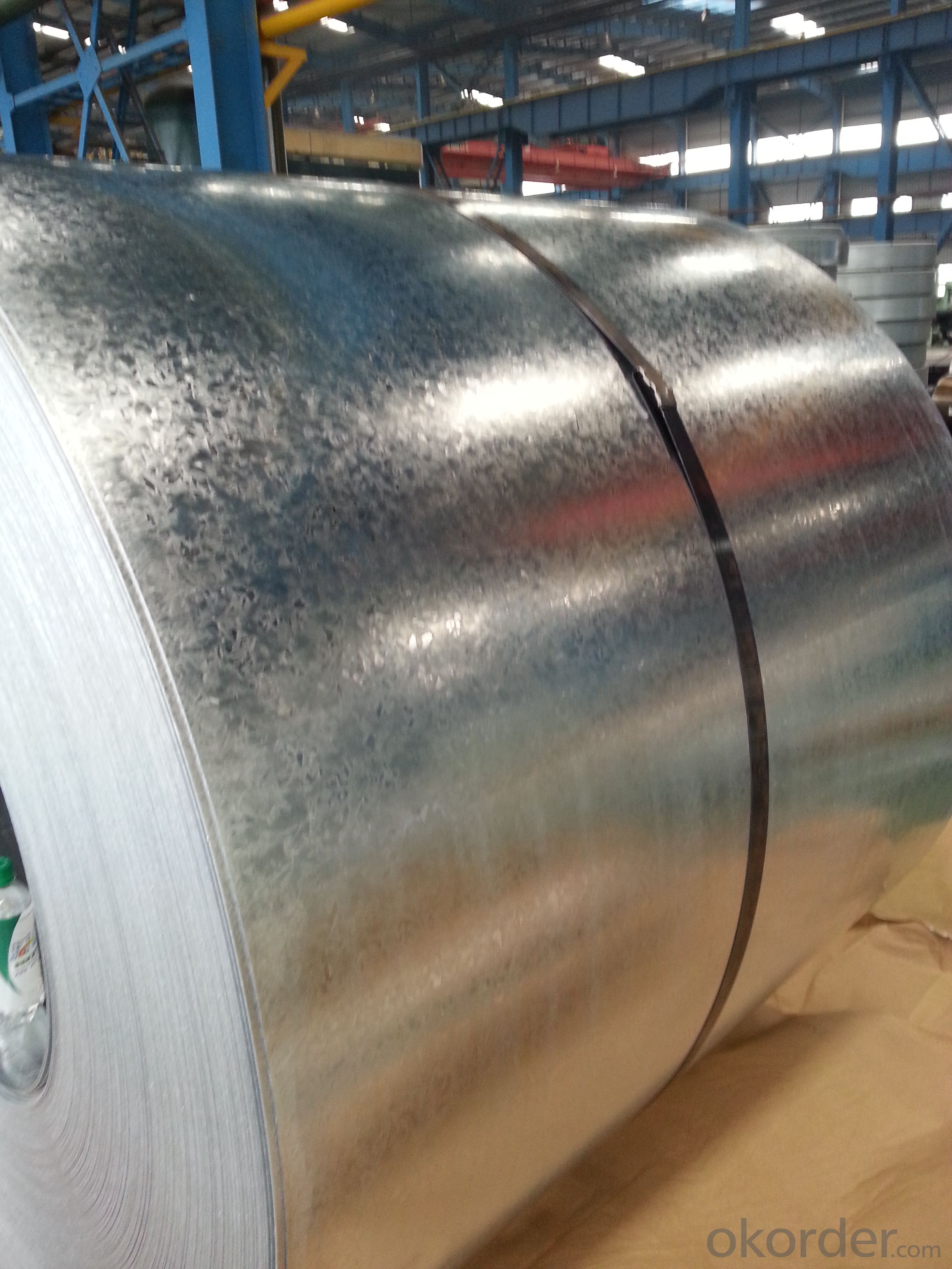 Hot-Dip Galvanized Steel in Coil