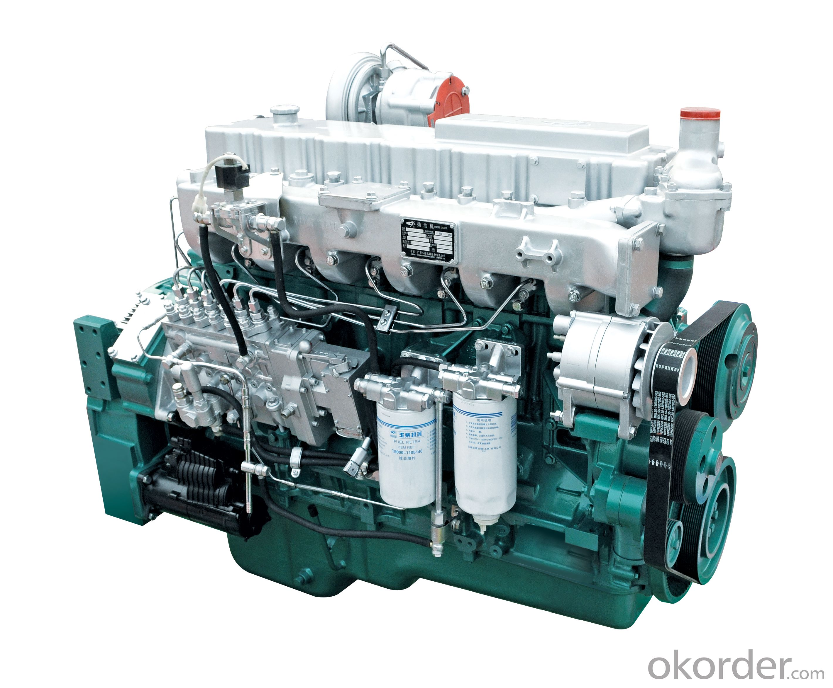 Yuchai  YC6M (160-250kW) Series Engines for Generators