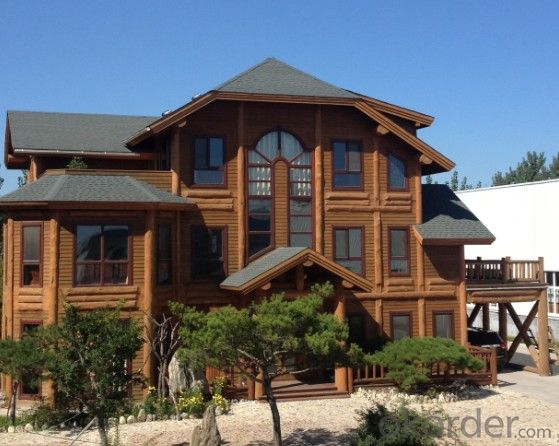 Seaside elegant style light wooden house