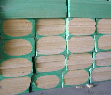 Insulation Rock Wool Board 190KG 100MM For Acoustic