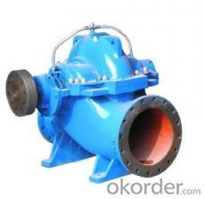 Horizontal double-suction split case pump