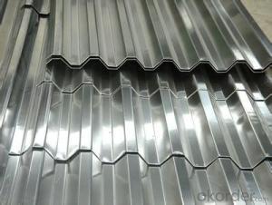 Aluminum product for corrugated
