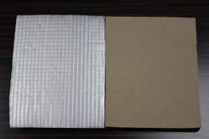 aluminium foil and kraft paper faced rubber insulation