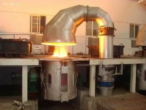 Electric melting induction furnace for Extruder die head