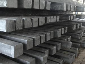 Hot rolled Steel Square Billets Q195 and Q235 with High Quality for Construction