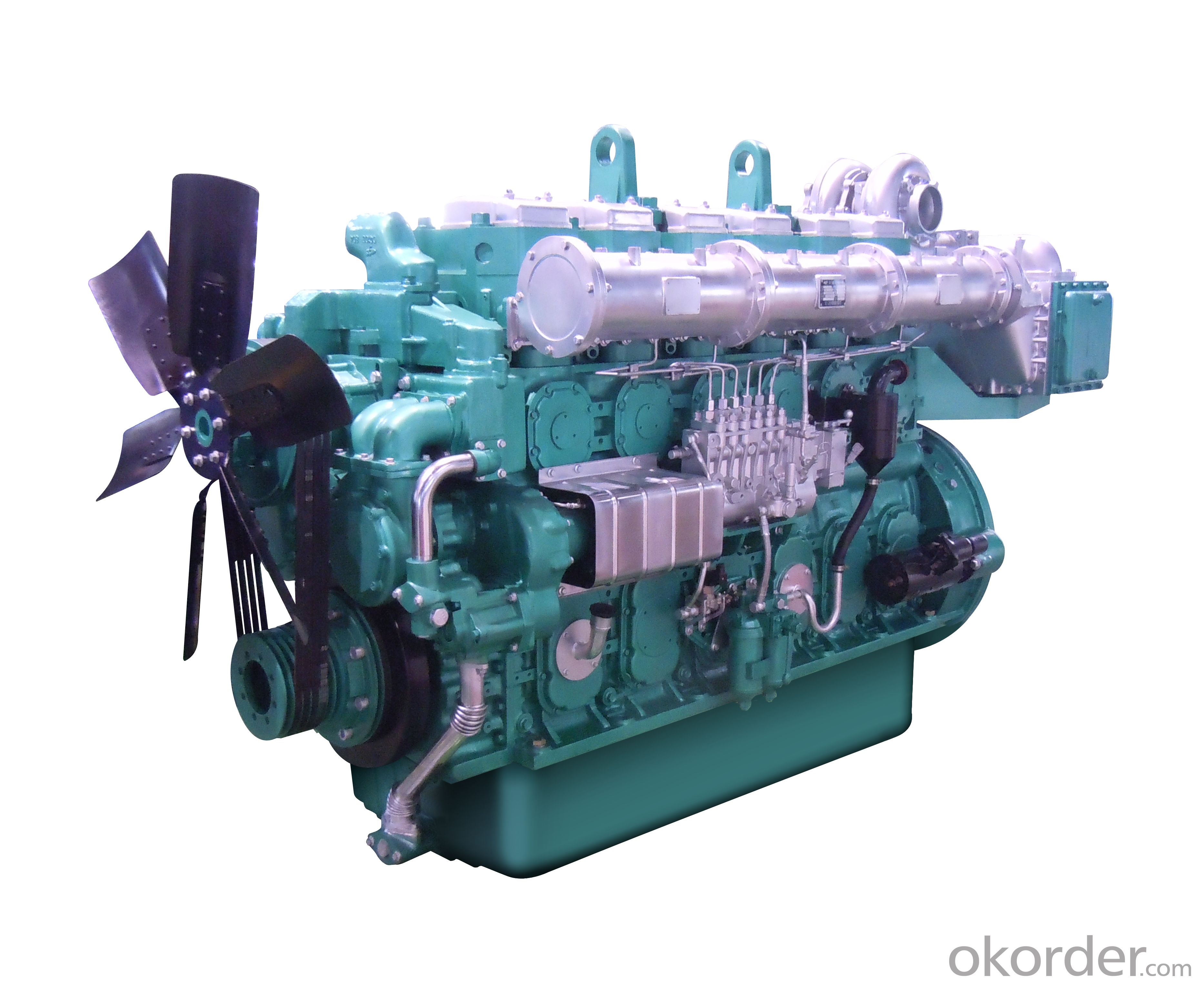 Yuchai YC6C (600-800kW) Series Engines for Generators