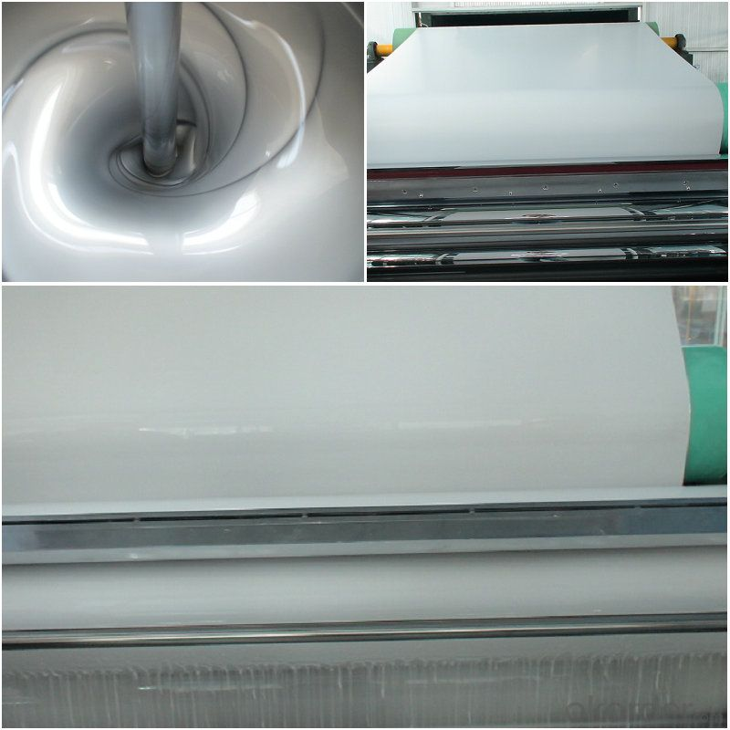 Grey color back coated aluminum alloy metals