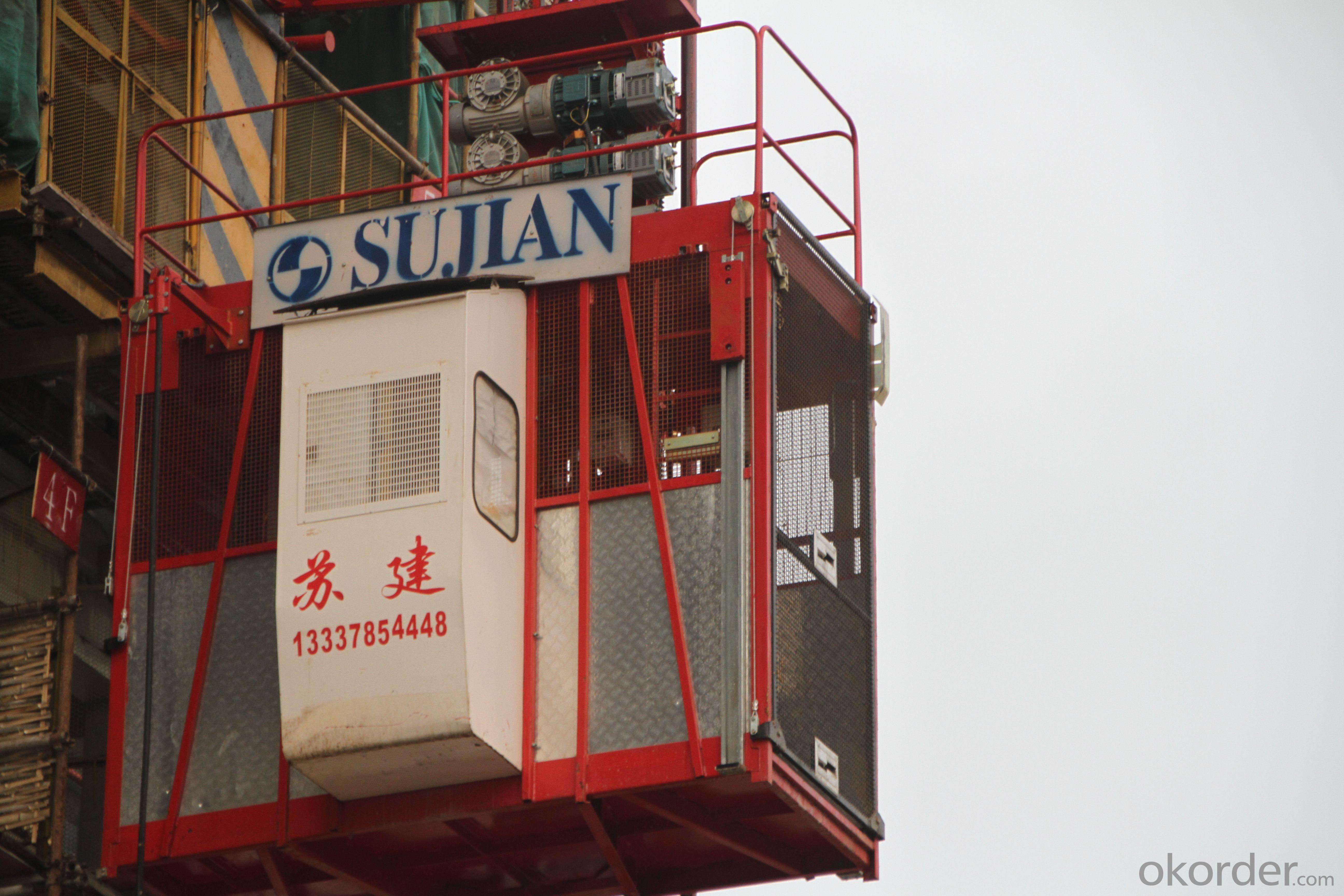 SC200/200 Construction elevator