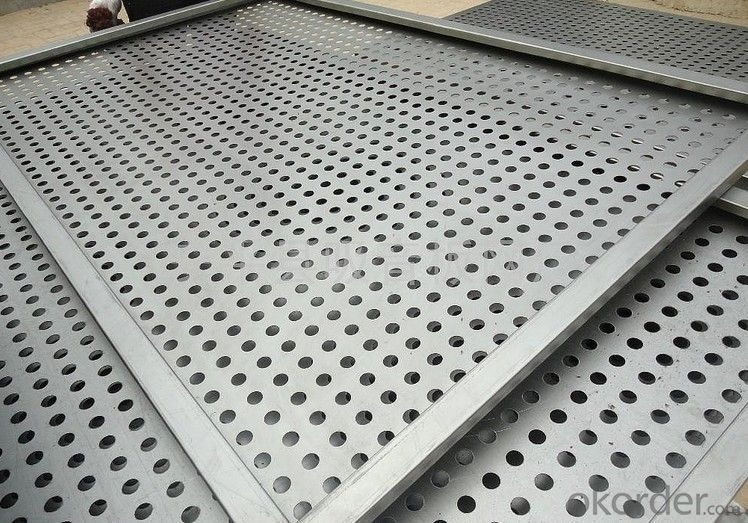 Perforated  Metal  Mesh -- High Quality