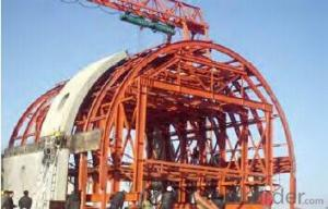 High-speed of Installation and Removal Tunnel Formwork