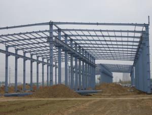Large-Span Pre Engineering Steel Structure Building