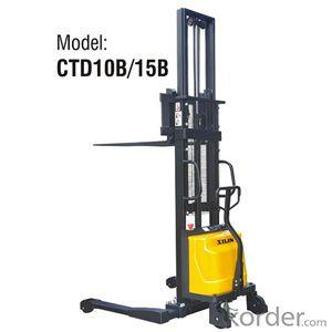 Semi-electric Stacker- CTD10B/15B