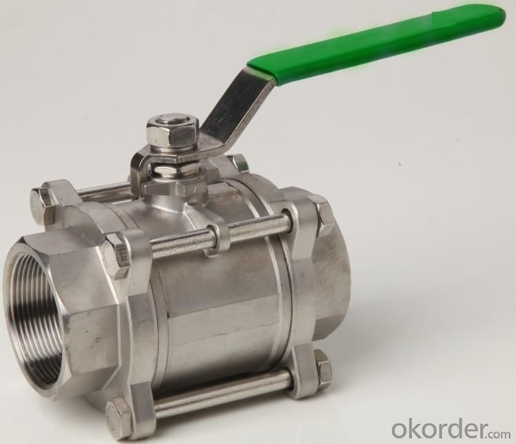 high quality and low price manual ball Valve with good delivery time