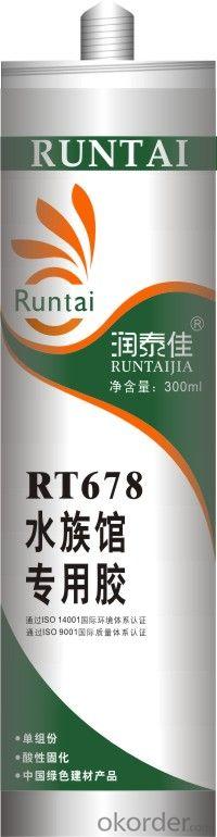 RT-678 Acetoxy Aquarium Silicone Sealant