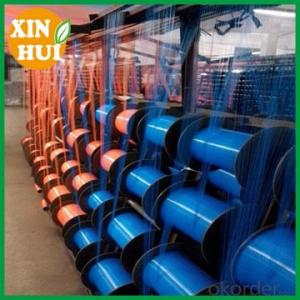 Green hdpe construction scaffolding safety net