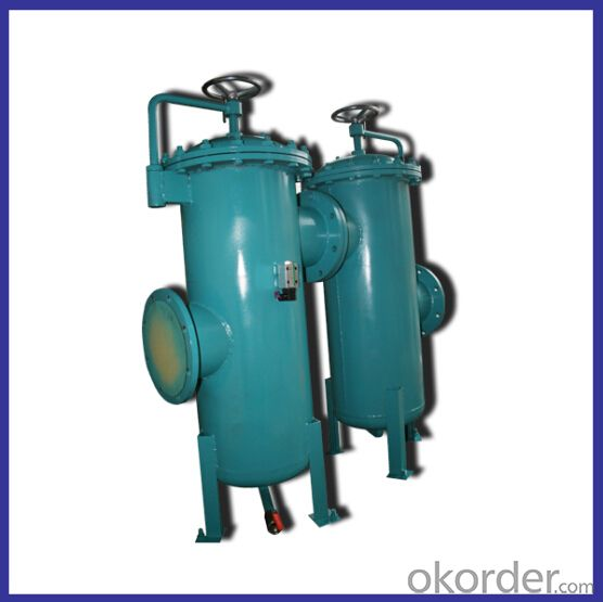 high flow easy operate DN200 simplex filter
