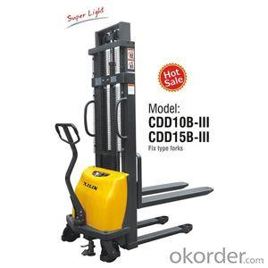 Semi-electric Stacker- CDD10B-III/15B-III