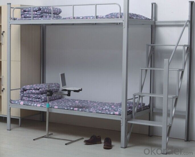 Bunk Bed with Independent Ladder
