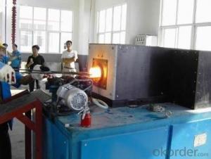 Energy Saving 500kg Metal Melting Induction Furnace for Steel Scrap