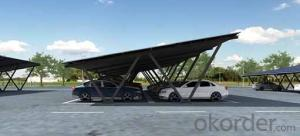 solar carport mounting system