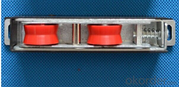 Nylon PA66 Aluminium Door Sliding Window Roller