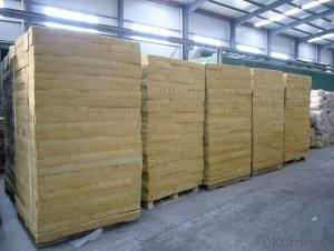 Insulation Rock Wool Board 110KG 100MM
