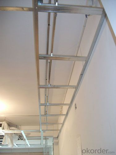 Plasterboard Ceiling Decoration- Main Channel&Furring Channel Light Steel Keel