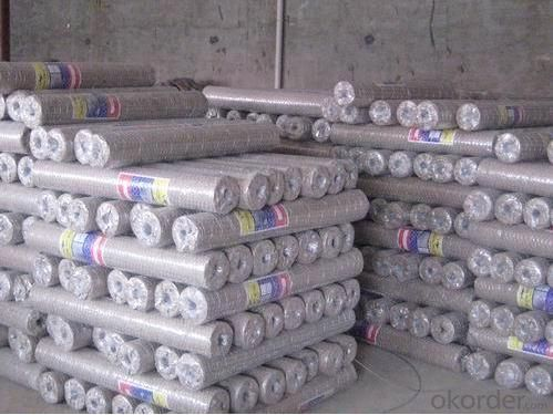 GALVANIZED HEXAGONAL WIRE MESH-BWG19 x 1/4