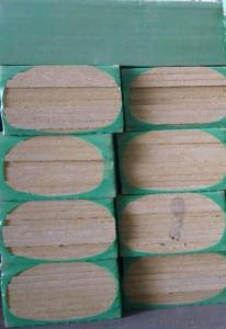 Insulation Rock Wool Board 160KG 100MM For Power Plant