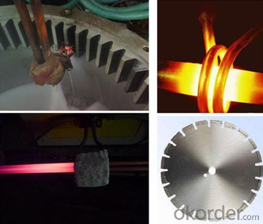 Small induction furnace for gold/silver melting