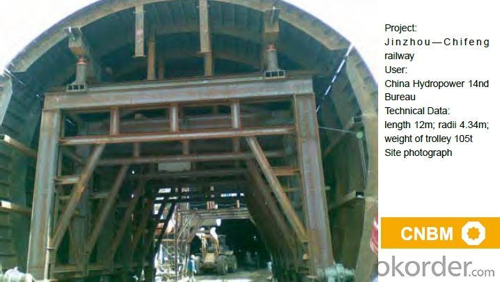 Automatic Hydraulic Tunnel Formwork