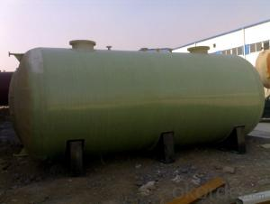 Fiberglass Reinforced Plastic High Quality FRP Pretreatment Tank on Hot Sales DN9000