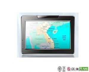 Vehicle 4.3 inch GPS portable FM free map install