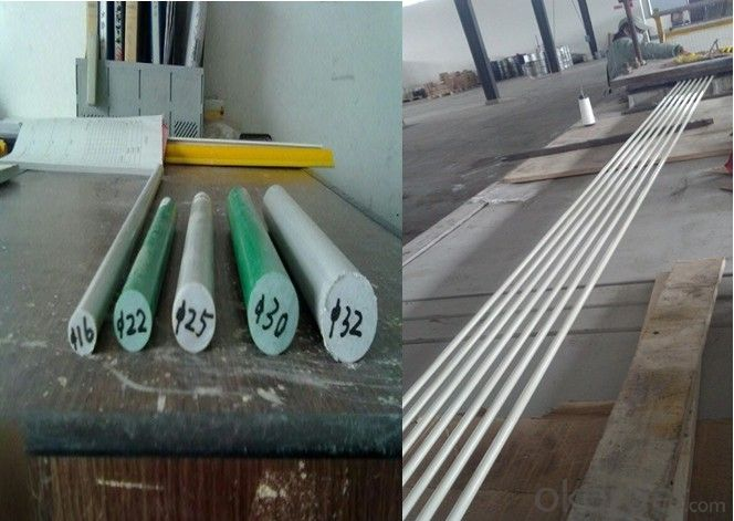 Fiberglass Stake with High Quality