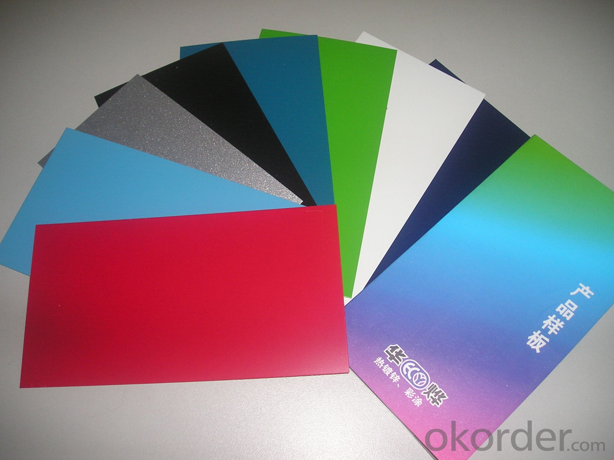 PPGI Color Coated Galvanized Steel Sheet