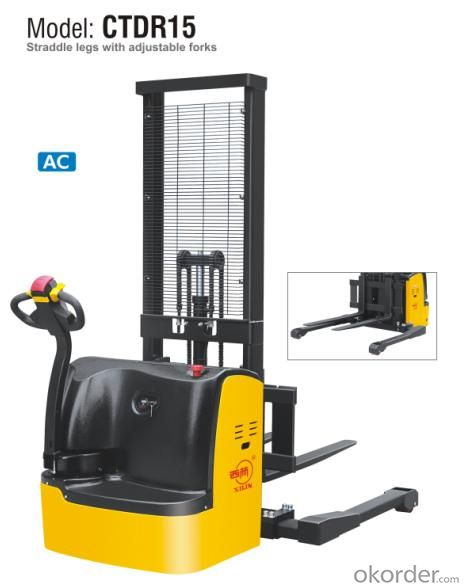 Electric Straddle Stacker- CTDR15