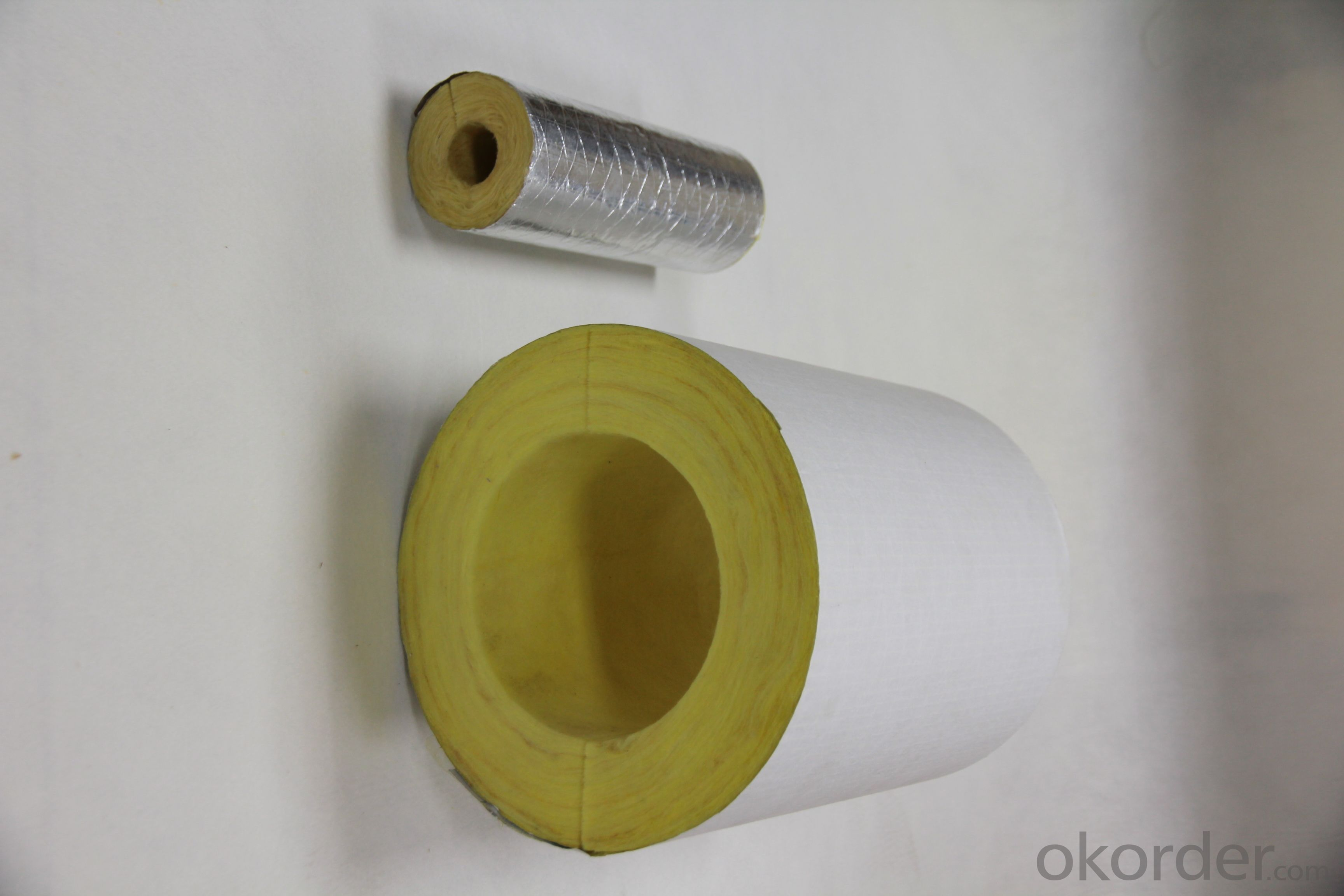 High quality Glass Wool Pipe