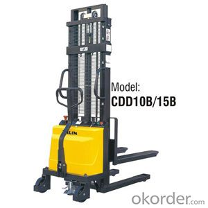 Semi-electric Stacker- CDD10B/15B