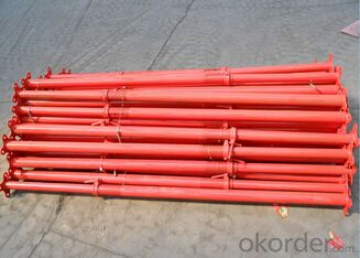 Q235/Q345 carbon steel Galvanized adjustable formwork steel props