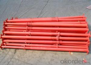 Q235/Q345 carbon steel Galvanized adjustable formwork steel props