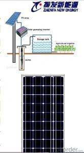 Zhenfa 120W-140W Solar DC Pump