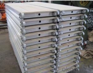 single width aluminium tower scaffolding