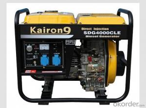 Natural Gasoline Generator High Power 2000LH
